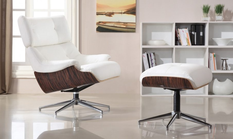 Sillones relax for Sillon relax piel blanco
