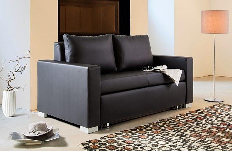 Elegante sof de piel minimalista im genes y fotos for Sofa minimalista