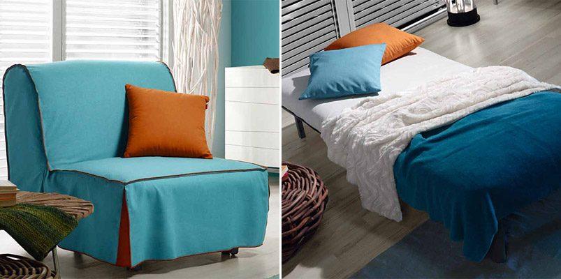 Sill n individual cama im genes y fotos for Sillon cama pequeno