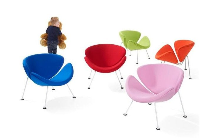 Sillón infantil Orange Slice Junior