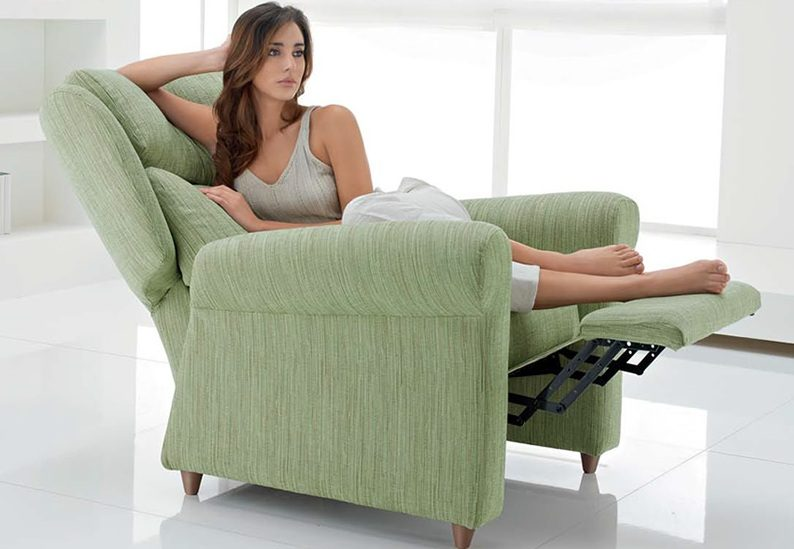 Sillones relax for Sillon relax madera