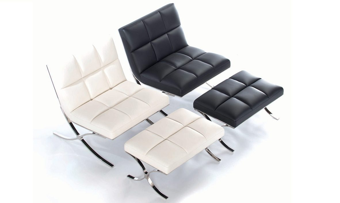 Sillon relax diseo silln relax en polipiel marrn with for Sillon diseno moderno