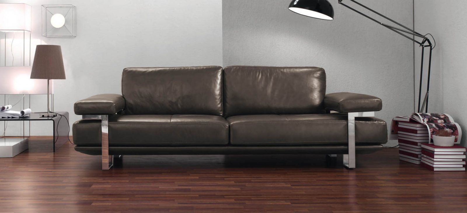 Sof s para la decoraci n de interiores en for Sofas italianos de piel