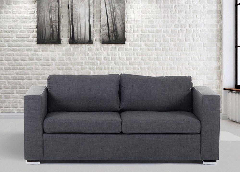 Sof s grises - Sofa dos plazas ...