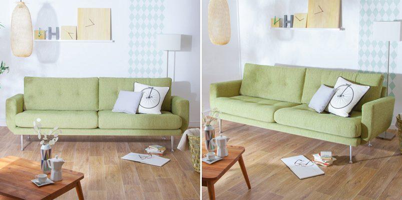 sof de tela estilo a os 70 im genes y fotos