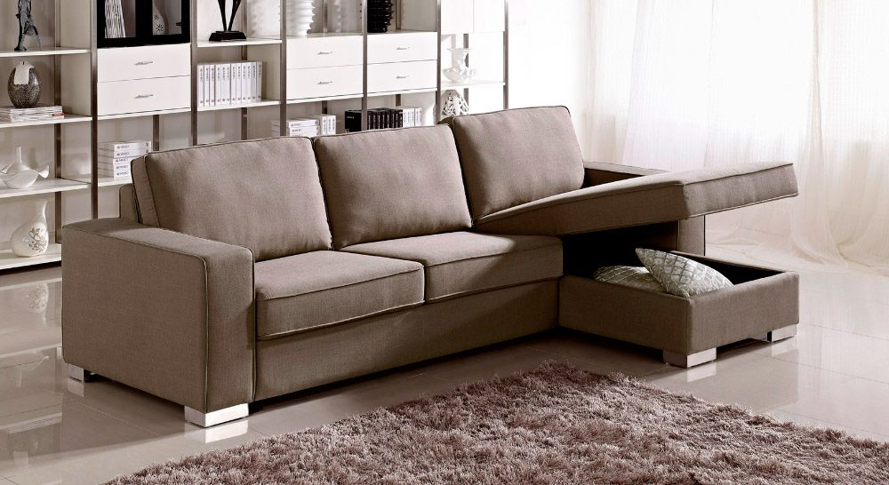 Chocolate sofas sofs de color marrn walter sofa living for Chaise longue sofa cama