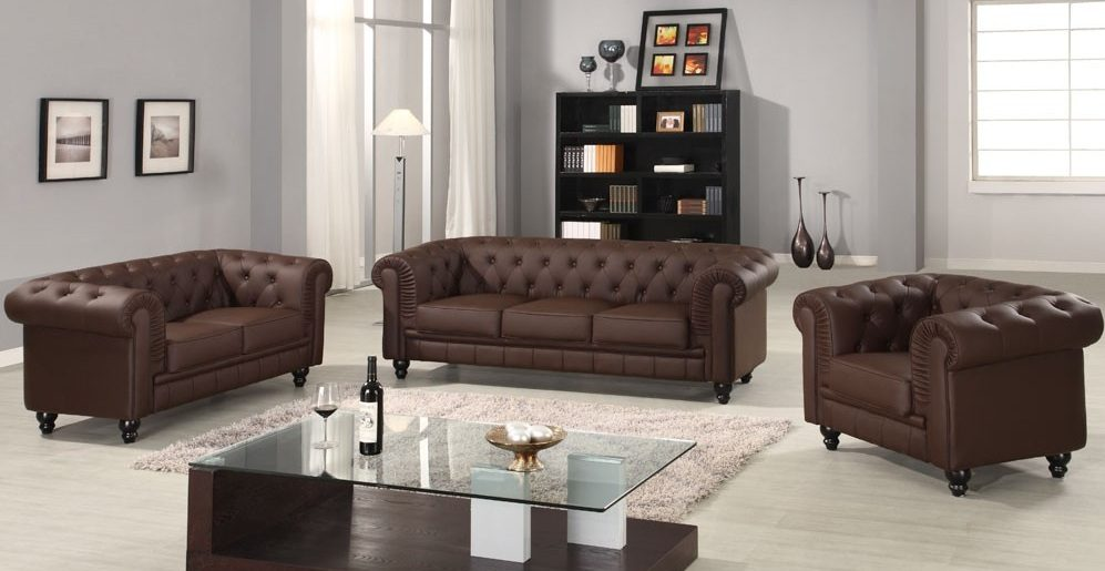 Sof s chesterfield for Sillones para bar