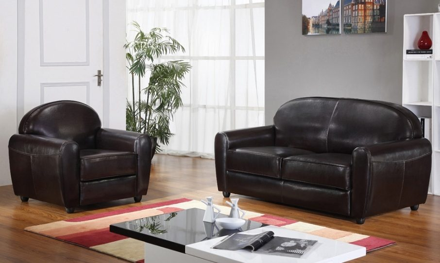 Sof s de cuero - Modelos de sofas clasicos ...