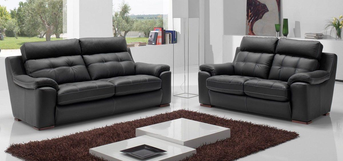 sof s de cuero On sofas de cuero modernos