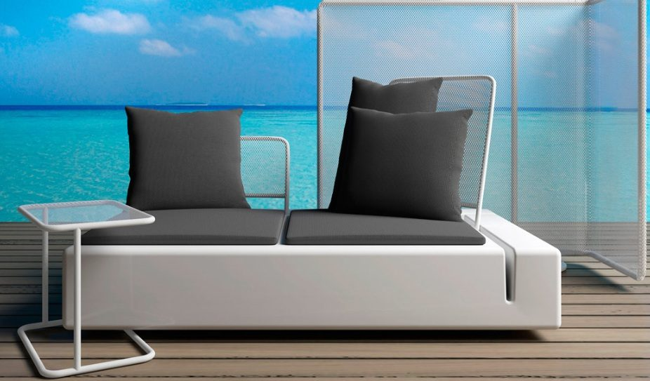 Sillon relax diseo silln relax en polipiel marrn with for Sillones terraza baratos