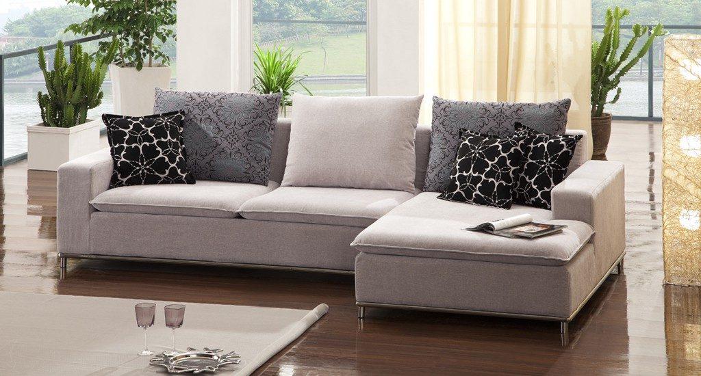 Sof s de tela for Modelos sillones para living modernos