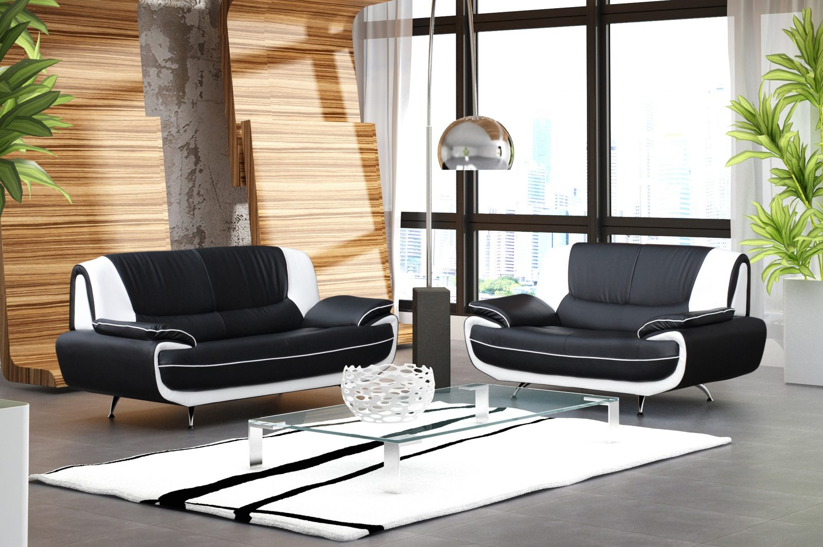 Sof s de 3 2 plazas for Sofas modernos