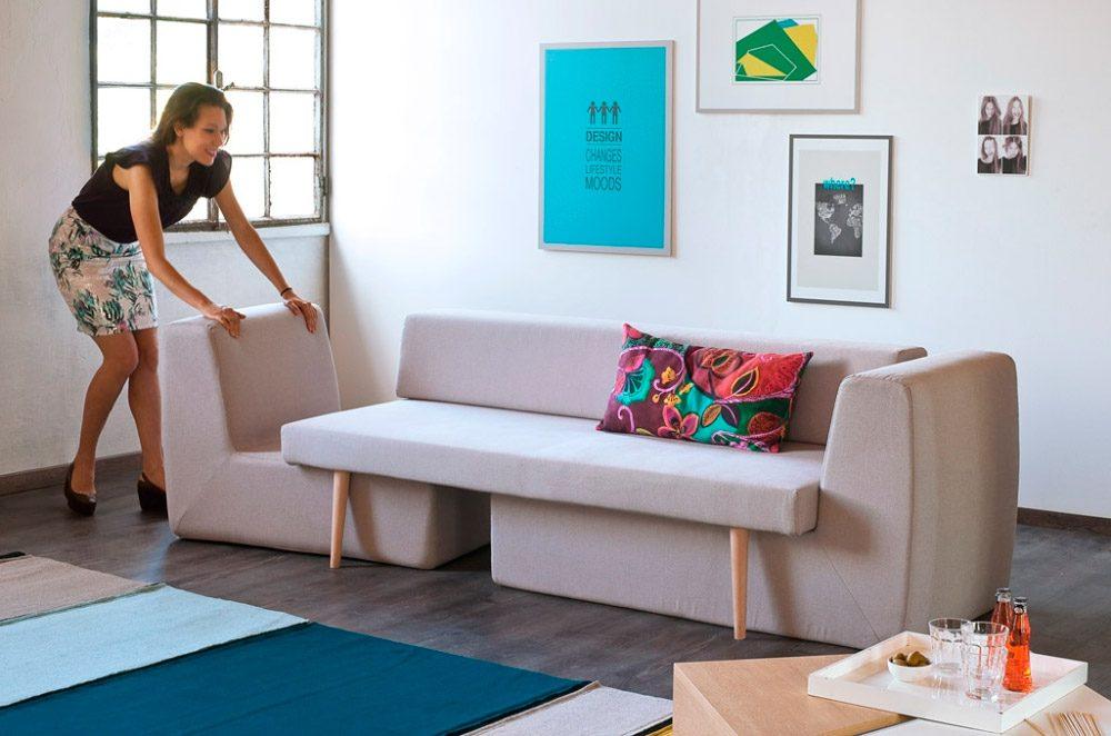 Sof s modulares for Casas de sofas en valencia