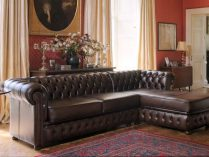 Canapé Chester con chaise longue